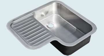 Stainless Steel Drainboard Sinks # 5193