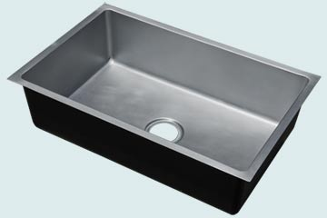 Custom Zinc Kitchen Sinks # 4889