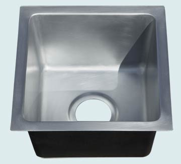 Custom Zinc Bar Sinks # 5096