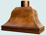 Copper Range Hoods Chateau
