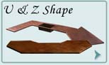 Copper Countertops U & Z Shape