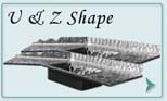 Stainless Steel  Countertops U & Z Shape