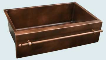 Copper Sinks Towel Bar  # 3647
