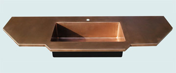 Copper Countertop # 3305