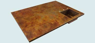 Copper Countertop # 4005