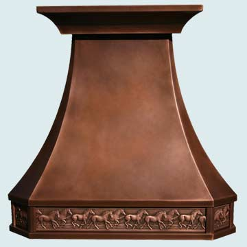 French country Vent Hood # 2771