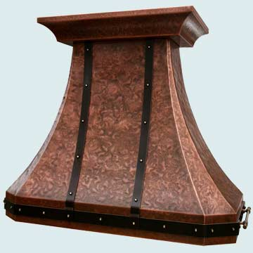 Copper Range Hood # 3877