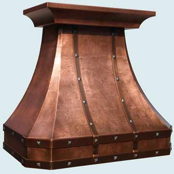 Copper Exhaust Hood # 4029