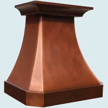 Copper Stove Hood # 4033