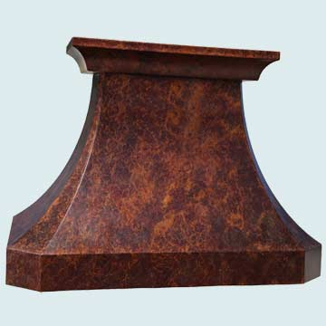 Copper Range Hood # 4225