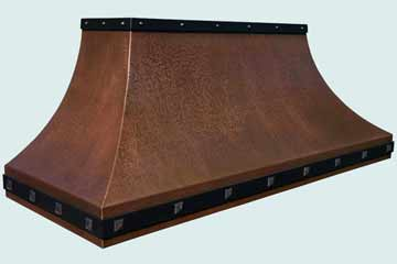 Copper Custom Vent Hood # 4339