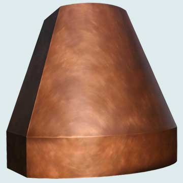 Copper Range Hoods # 4464