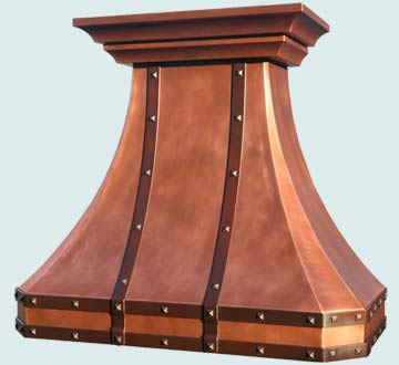 French Country Vent Hood # 4669