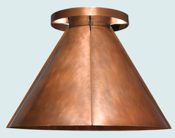 Copper Exhaust Hood # 5142
