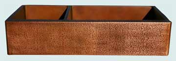 Copper Extra Large Sinks # 2832