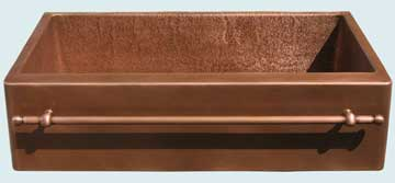 Copper Sinks Towel Bar  # 3672