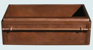 Copper Sinks Towel Bar  # 3653