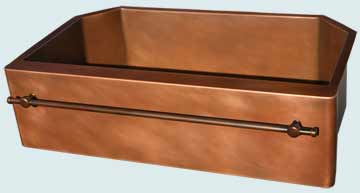 Copper Sinks Towel Bar  # 4661
