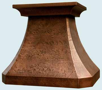 Copper stove Hood  # 2506