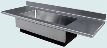 Stainless Steel Countertop # 3352