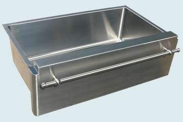Stainless Steel Towel Bar sinks # 3761