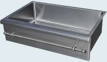 Stainless Steel Towel Bar sinks # 4815