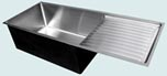 Stainless Steel Kitchen Sinks Drainboards
